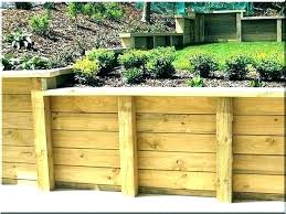 retaining wall repair costs awesome retaining wall wood wood retaining wall post spacing best wood for retaining wall repair costs