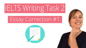ielts writing task essay correction  ielts writing task 2 essay correction 1
