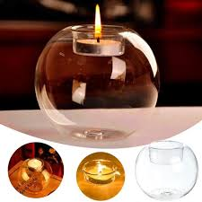 Decorative Ball Holder 60PCS Romantic Decorative Ball Glass Candlesticks Crystal Glass 11