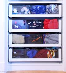 these drawers you guys i just love them they so much and they are really quite easy to see everything in especially when you use my favourite