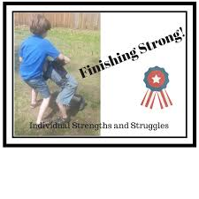 Individual Strengths Finishing Strong Individual Student Strengths And Struggles Free