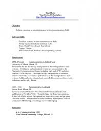 Examples Of Communication Skills For Resume | Resume Template Example