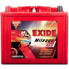 Exide Automotive Battery Application Chart Exide Mileage Car Battery 44 Ah At Rs 5500 Piece