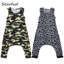 <b>Seartist Baby Boys Girls</b> Rompers Boy Girl Shorts Leopard ...