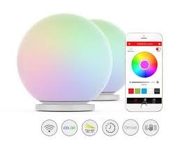 Glass That Changes Color In Light Playbulb Sphere Smart Color Changing Waterproof Dimmable Led Glass Orb Light Floor Lamp Night Lights Tap To Change Color