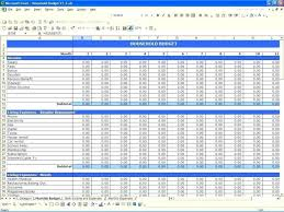 012 Money Management Template Monthly Expense Sheet Excel