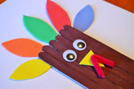 Thanksgiving Craft For Kids Turkey Craft Sticks Craft For Kids