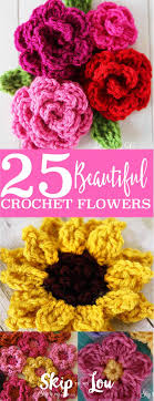 Small Crochet Flower Pattern Unique Design