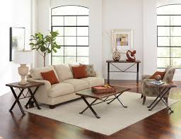 white furniture decorating living room. White Sofa By Sprintz Furniture With Orange Cushion And Carpet On Wooden Floor For Living Decorating Room C