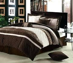 red king size duvet covers brown king size duvet cover sets cheetah brown 8 piece comforter