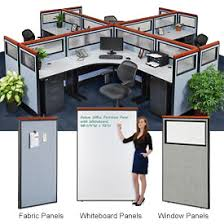 cubicle for office. interion® deluxe cubicle partition panels for office