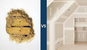 plaster vs drywall
