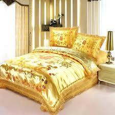 gold bedspread king size rose gold bedspread red satin dragon phoenix wedding bedding set print modern gold bedspread king size