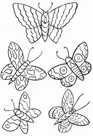 butterflies colouring pages. Plain Pages Butterflies And Colouring Pages E