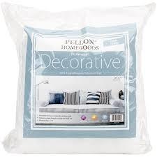 Pellon Homegoods Decorative Pillow Insert 16 X 16 2 Pack