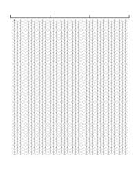 Isometric Graph Paper Template Free Download