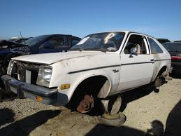 Junkyard Find: 1982 Chevrolet Chevette - The Truth About Cars