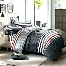 red striped sheets striped bedding sets quilts quilt grey and red stripes printing set queen bed