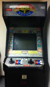 got me a street fighter ii champion edition arcade cabinet