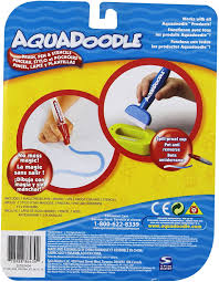 Aqua doodle aquadoodle magic drawing pen water drawing pen replacement mat 2 color red and blue free shipping. Amazon Com Aquadoodle Brush Pen And Stencils With Bonus Spill Proof Cup Toys Games