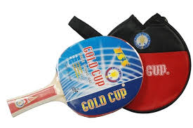 table tennis bats. gold cup table tennis bats