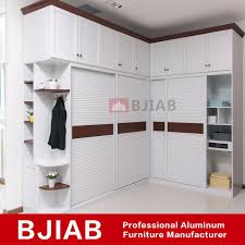 china customized white oak modern metal home furniture aluminum wardrobe china metal armoire metal closet