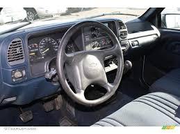 1995 Chevrolet C/K 2500 C2500 Cheyenne Extended Cab Blue Dashboard ...