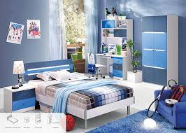boy and girl bedroom furniture. Blue Color Environmental Paint Kids Bedroom Furniture Sets For Boys , Easy To Assembly Boy And Girl