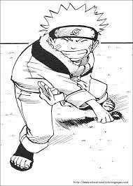 Naruto Coloring Pages Educational Fun Kids Coloring Pages And