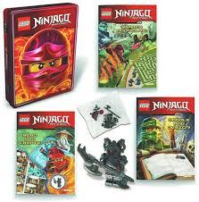 NEW SEALED 2018 Lego Ninjago Tin Set w/ 3 Books + Vermillion Warrior Mini  Figure at Amazon's Sports Collectibles Store