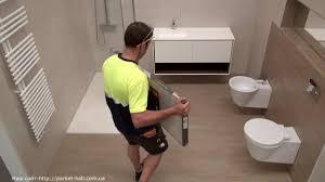 Особенности укладки <b>ламината Faus</b> Укладка <b>Faus</b> в ванной ...