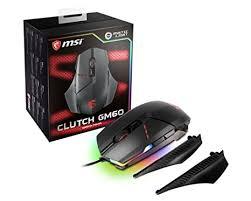 Buy MSI Clutch GM60 RGB Adjustable DPI ... - Amazon.in