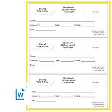 Walkathon Pledge Form Templates Charitable Pledge Agreement Template Donor Form Free Walkathon
