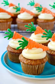 Carrot Cupcakes With Cream Cheese Frosting Just A Taste