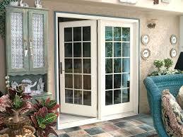 Arresting Single French Door Windows Single Patio Door With Side