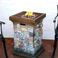 propane fire column us outdoor propane gas fire column threshold lp