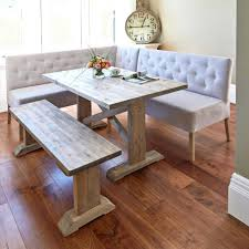 rustic kitchen table with bench. Bench Kitchen Dining Corner Seating Table Room Tables Extra Long Seats 12 Rustic With