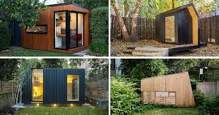 backyard home office. 14 Inspirational Backyard Offices, Studios And Guest Houses | CONTEMPORIST Home Office