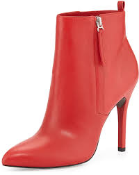 boots pour la victoire zane leather ankle boot red