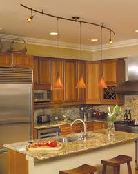 monorail lighting. Monorail Lighting System In A Kitchen Environment.