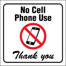 Lynch Sign 10 In X 7 In Cell Phone Please Turn Yours Off Sign
