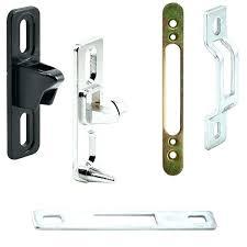 pella sliding door lock sliding door handle with lock strikes keepers sliding patio glass door sliding
