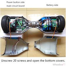smart self balancing electric scooter hover board fault diagnosis hoverboard blinking red light at Hoverboard Wiring Diagram