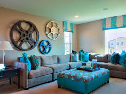 Turquoise And Brown Living Room Turquoise Living Room Decor Interior Livingroom Vintage Turquoise