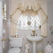 Modern Bathroom Window Curtains Ideas Bathroom Curtains For Window ...