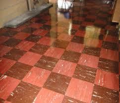 asbestos floor tiles color