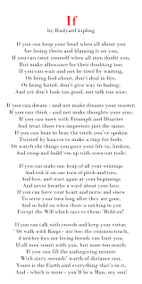 artistic and inspiring writing by a master if by rudyard kipling artistic and inspiring writing by a master if by rudyard kipling who also wrote