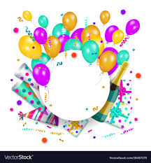Banner Birthday Happy Birthday Banner Poster Template Royalty Free Vector