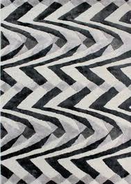 v a jazz black grey wool rug by flair