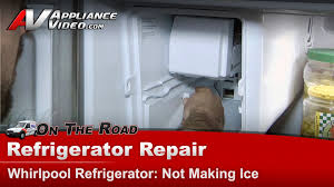 Kenmore Ice Maker Not Getting Water Refrigerator Repair Diagnostic Not Making Ice Whirlpool
